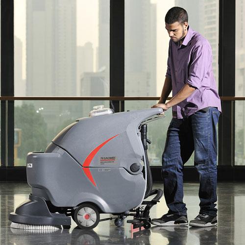 GM50B手推式电动洗地机