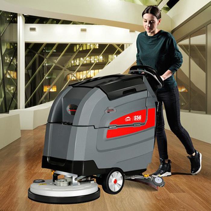 GM-S56智慧系列手推式洗地机