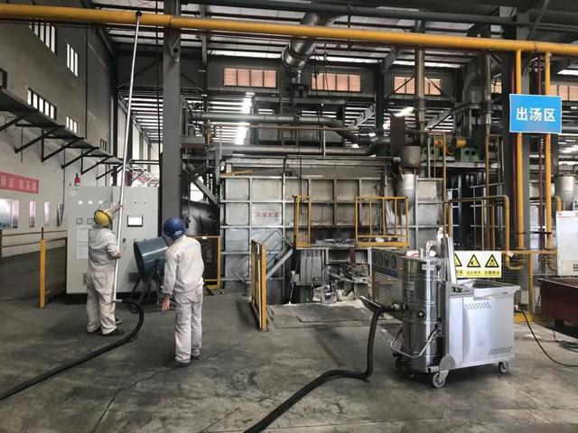 长淮大功率工业吸尘器