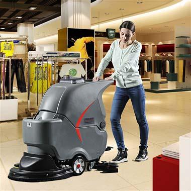 GM56B手推式洗地吸干机