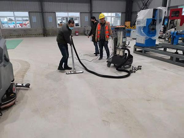 车间工业洗地机