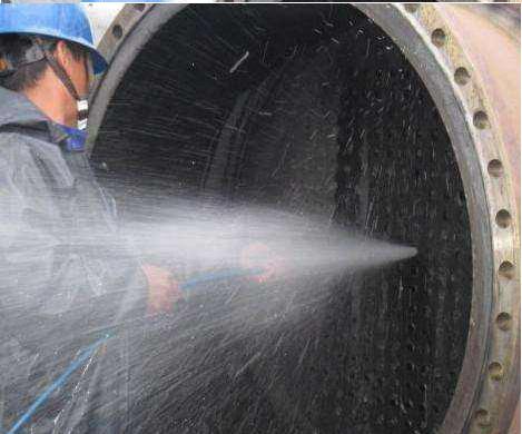 换热器疏通清洗使用长淮高压清洗机