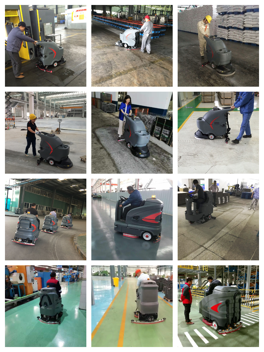 工厂洗地机客户使用案例
